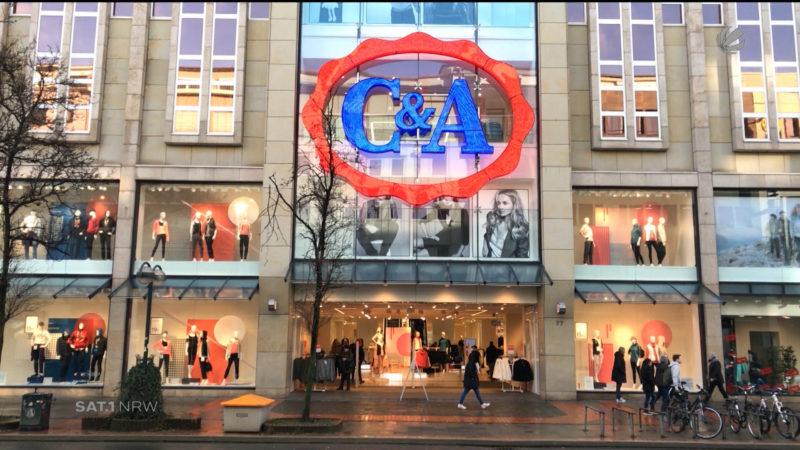 Wird C&A an Chinesen verkauft? (Foto: SAT.1 NRW)