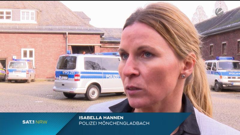 Polizist von mutmaßlichen Islamisten bedroht (Foto: SAT.1 NRW)