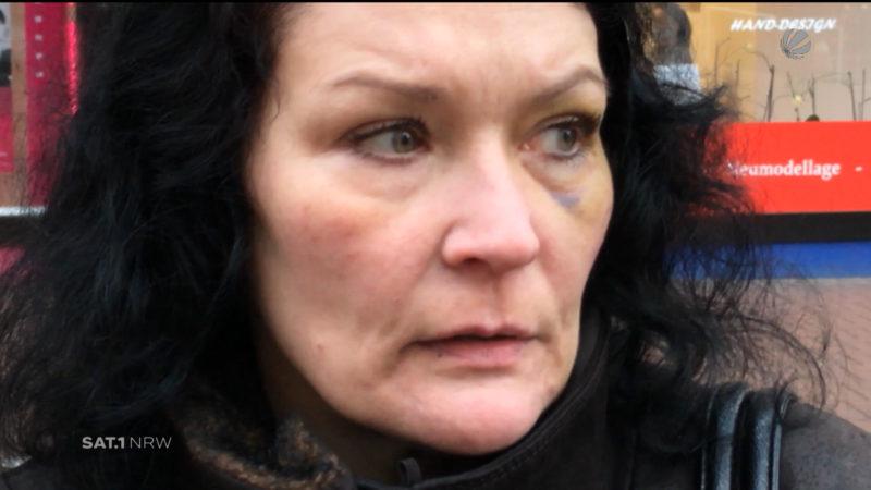 Frau aus Essen verprügelt (Foto: SAT.1 NRW)