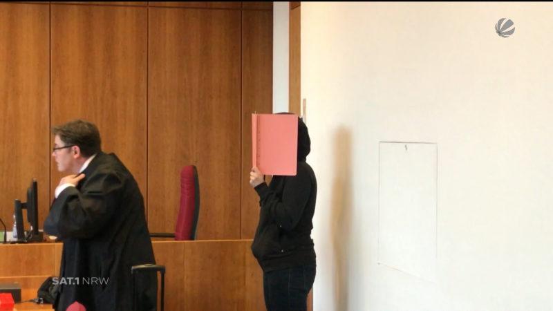 Gerichtsprozess einer mutmaßlichen Vergewaltigerin (Foto: SAT.1 NRW)