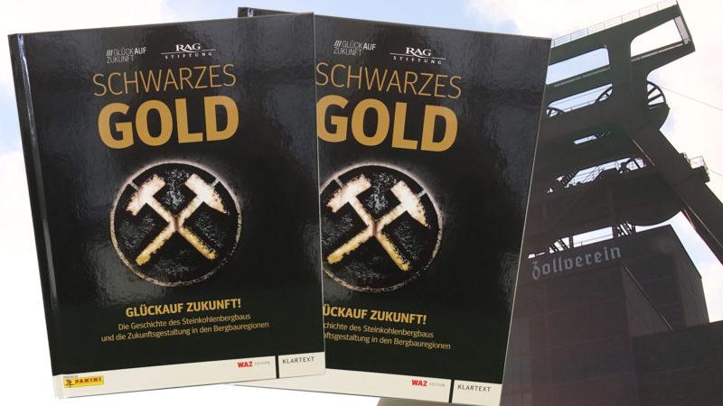 """Gewinnspiel: Panini-Album """"Schwarzes Gold"""" (Foto: SAT.1 NRW)"""