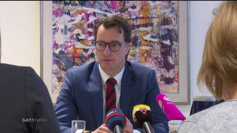 Verkehrsminister: Masterplan für den Autobahnausbau (Foto: SAT.1 NRW)
