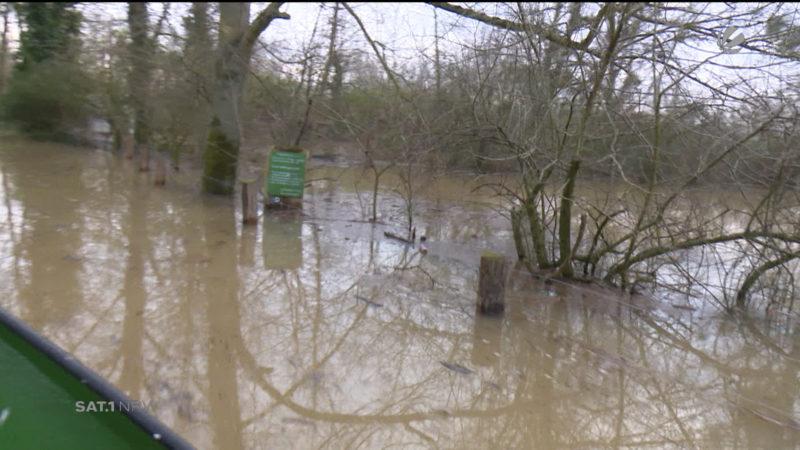 Mehr Fördergelder für Hochwasserschutz (Foto: SAT.1 NRW)