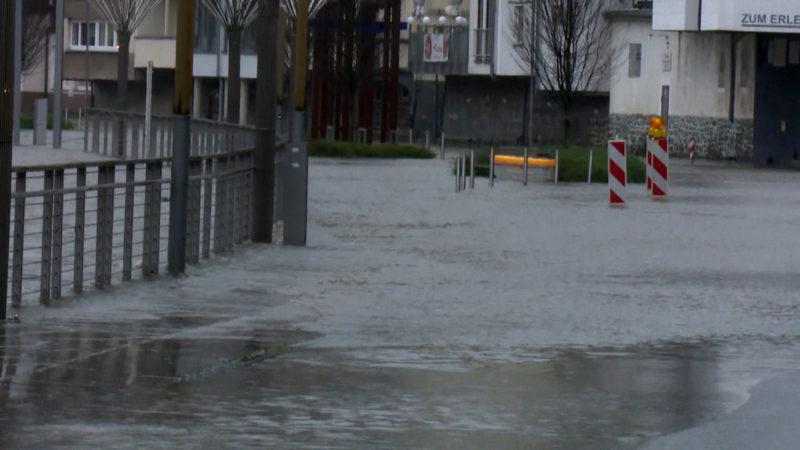 Hochwasser: So verhalten Sie sich richtig (Foto: SAT.1 NRW)