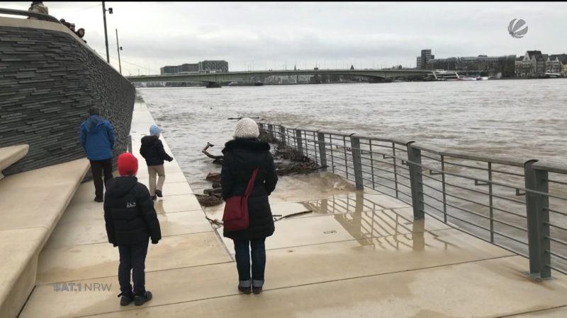 Hochwasser Pegel Köln
