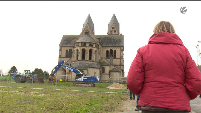 Immerather Dom wird abgerissen (Foto: SAT.1 NRW)