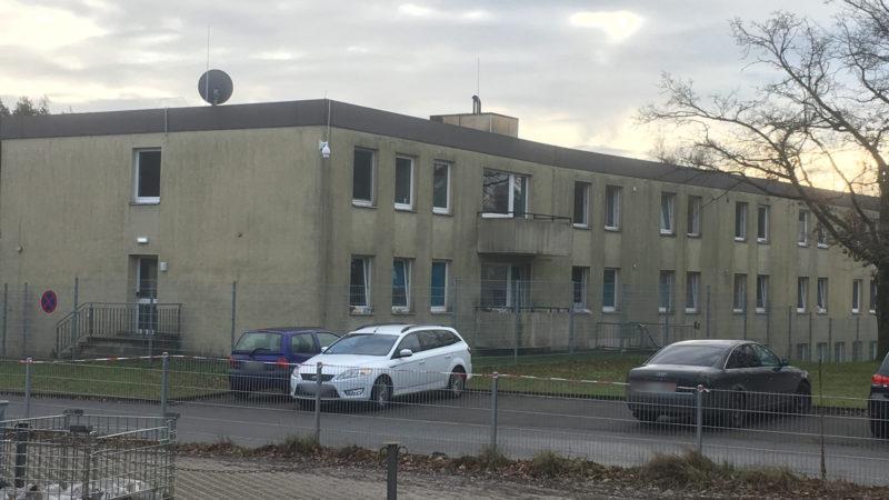Mehr Polizeieinsätze rund um Flüchtlingsheim (Foto: SAT.1 NRW)