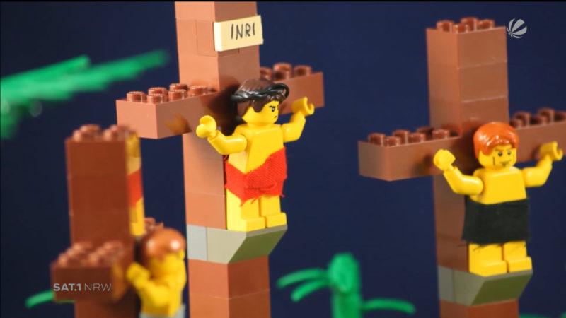 Lego-Ostergeschichte (Foto: SAT.1 NRW)