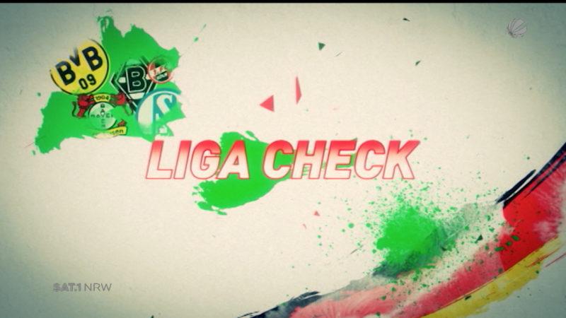 Ligacheck (Foto: SAT.1 NRW)
