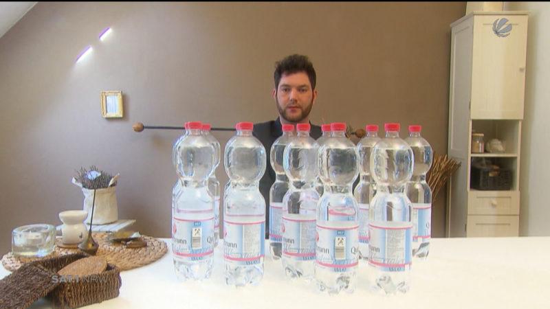 Bielefelder muss 20 Liter täglich trinken (Foto: SAT.1 NRW)