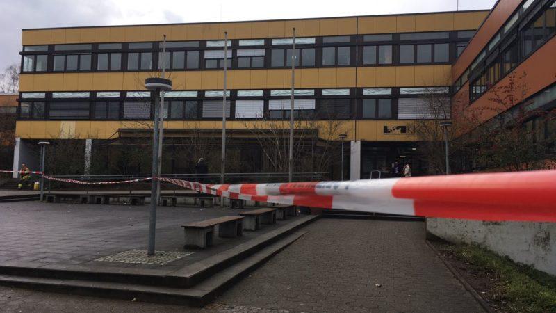 Bluttat an Gesamtschule in Lünen (Foto: SAT.1 NRW)