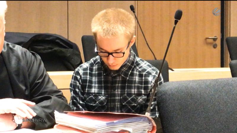 Prozess: Welche Strafe droht Marcel Heße? (Foto: SAT.1 NRW)