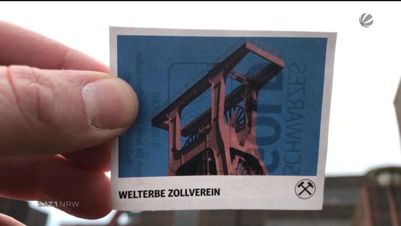 Der Kohlenpott im Panini-Album (Foto: SAT.1 NRW)