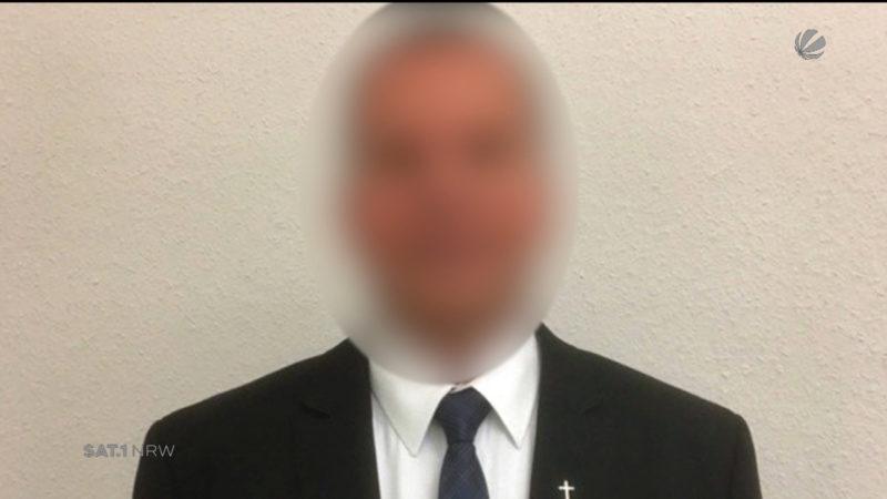 Pfarrer zurückgetreten (Foto: SAT.1 NRW)