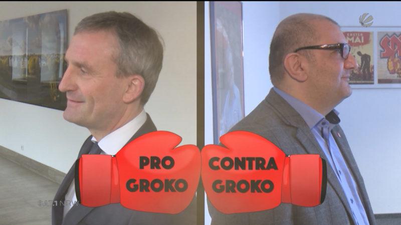 GroKo: Pro und Contra (Foto: SAT.1 NRW)