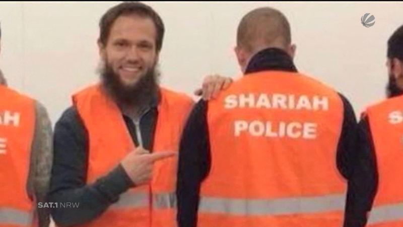 """Freisprüche der """"Scharia-Polizei"""" aufgehoben (Foto: SAT.1 NRW)"""