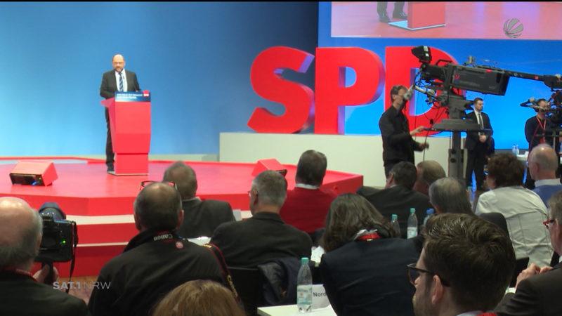Ergebnis des SPD-Parteitags (Foto: SAT.1 NRW)