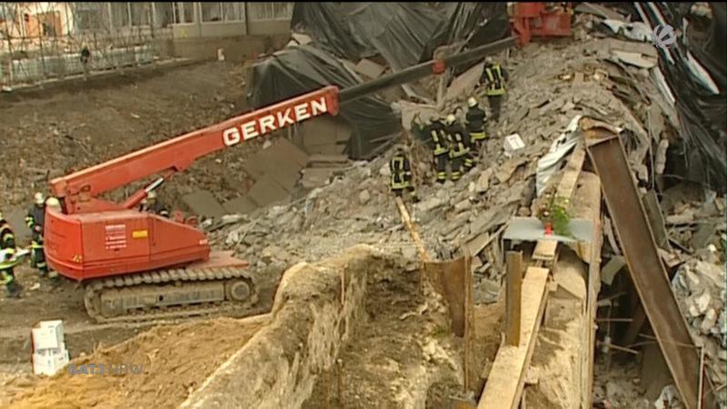 Prozessauftakt: Einsturz des Kölner Stadtarchivs (Foto: SAT.1 NRW)