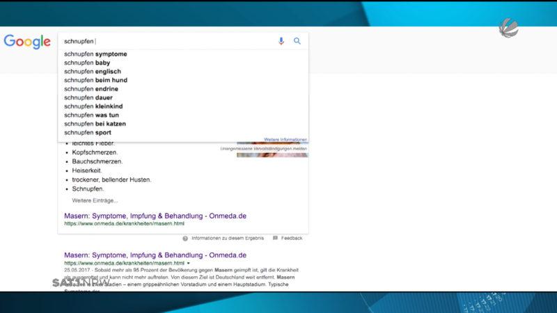 """Bertelsmann-Studie zu """"Dr. Google"""" (Foto: SAT.1 NRW)"""