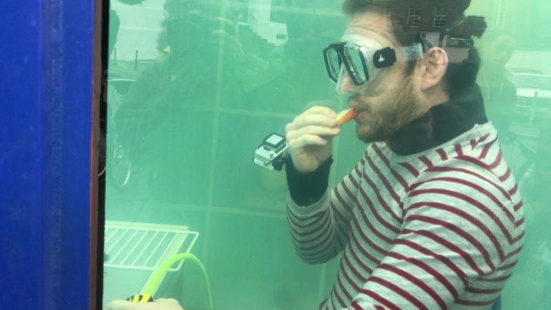 Zwei Wochen unter Wasser (Foto: SAT.1 NRW)