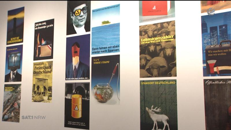 Klaus Staeck Ausstellung in Essen (Foto: SAT.1 NRW)