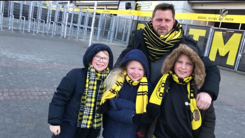 BVB-Fans gegen Montagsspiele (Foto: SAT.1 NRW)