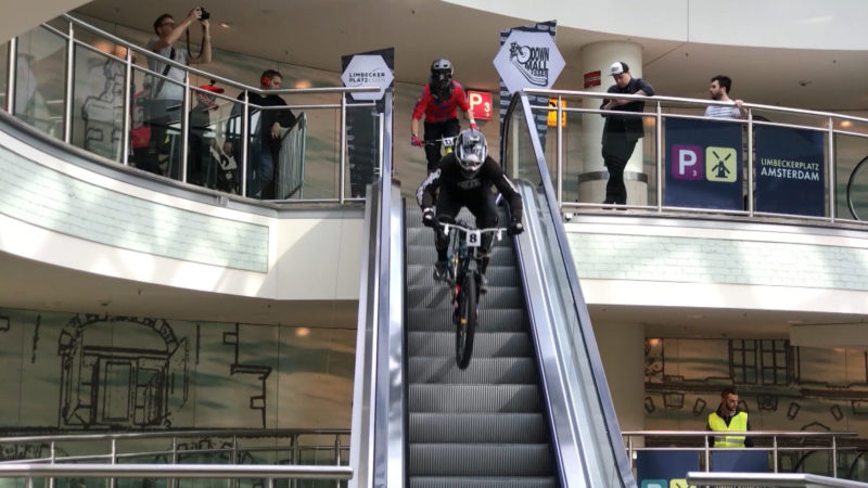 Radstrecke im Einkaufscenter (Foto: SAT.1 NRW)