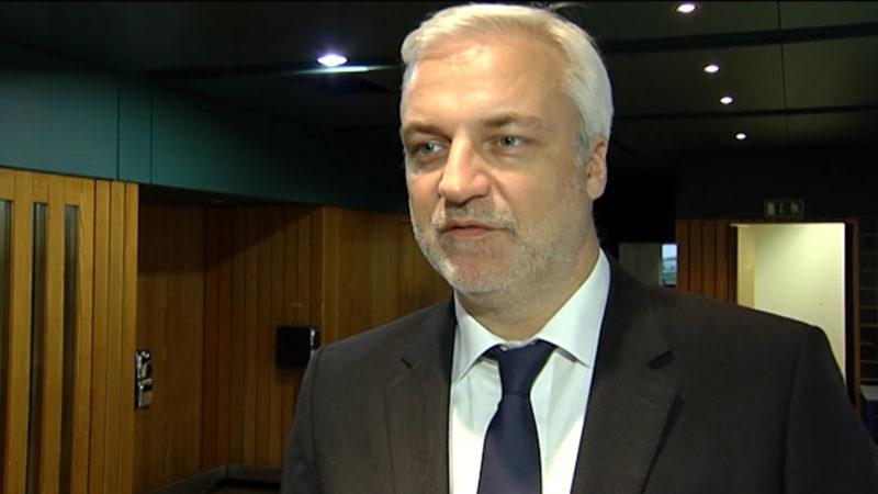 Ex-Minister jetzt Metaller-Chef (Foto: SAT.1 NRW)