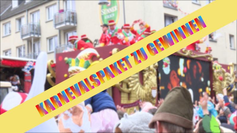 Gewinnspiel Karnevalspaket (Foto: SAT.1 NRW)