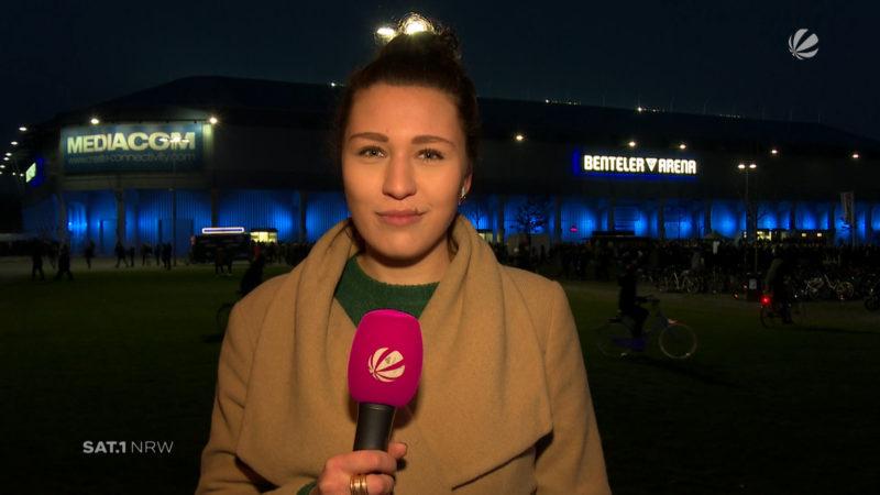DFB-Pokal: FC Bayern in Paderborn (Foto: SAT.1 NRW)