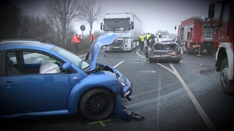 Mehr LKW Unfälle in NRW (Foto: SAT.1 NRW)