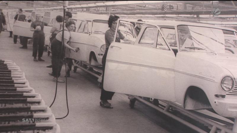 Bochum: Geschichte der Opel-Produktion (Foto: SAT.1 NRW)