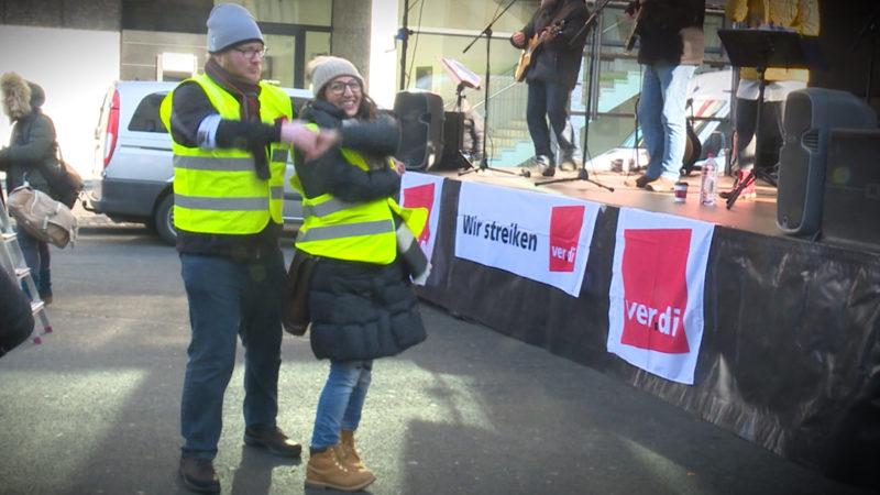 Tanzen statt austragen (Foto: SAT.1 NRW)