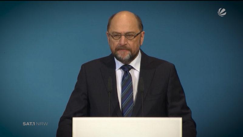 Verzicht von Martin Schulz: Reaktionen aus NRW (Foto: SAT.1 NRW)