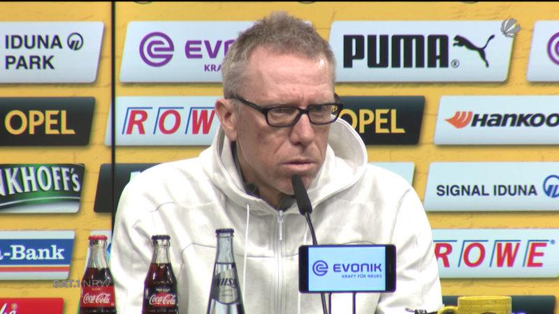 Peter Stöger kehrt als BVB-Coach nach Köln zurück (Foto: SAT.1 NRW)