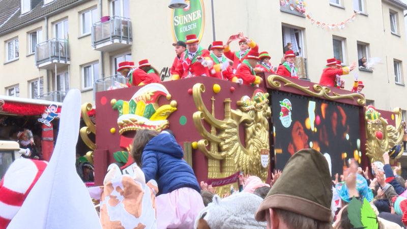 Karnevalszüge in NRW (Foto: SAT.1 NRW)