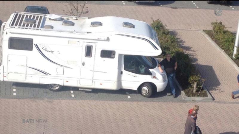 Um Wohnmobil betrogen (Foto: SAT.1 NRW)