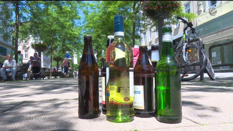 Duisburg: Verlängerung des Alkoholverbots (Foto: SAT.1 NRW)