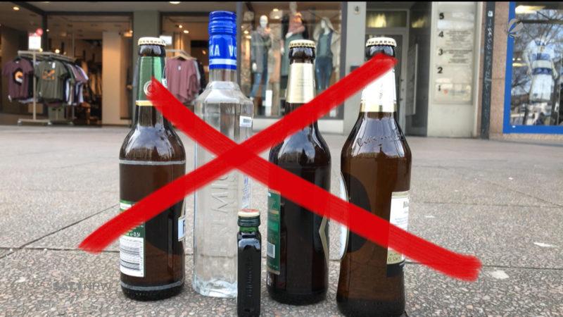 Duisburg: Alkoholverbot in der Innenstadt als Dauerlösung? (Foto: SAT.1 NRW)