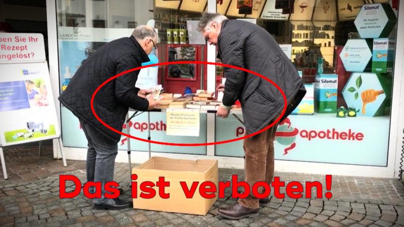 Amt stoppt Spenden (Foto: SAT.1 NRW)