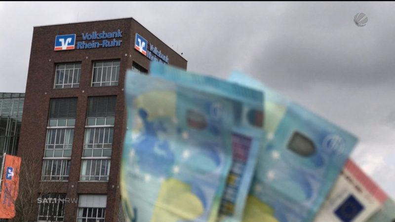Bank macht Rekordgewinn (Foto: SAT.1 NRW)