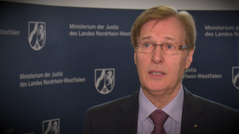 NRW-Justizminister Biesenbach zum Fall Sami A. (Foto: SAT.1 NRW)