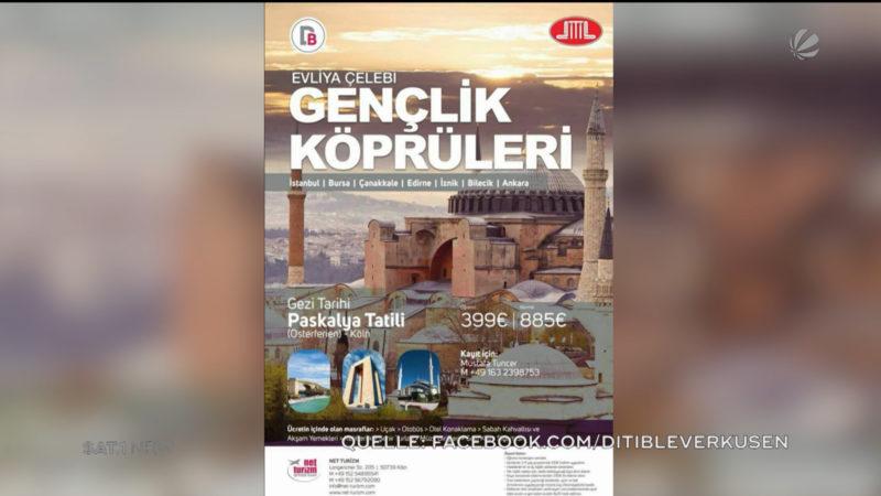 Ditib wirbt für Jugendreise zu Erdogan (Foto: SAT.1 NRW)