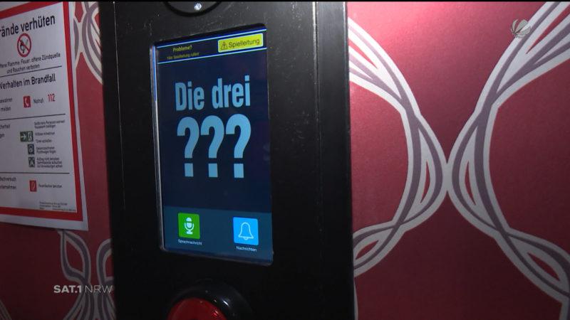 """""""Die drei ???""""-Escape-Rooms (Foto: SAT.1 NRW)"""