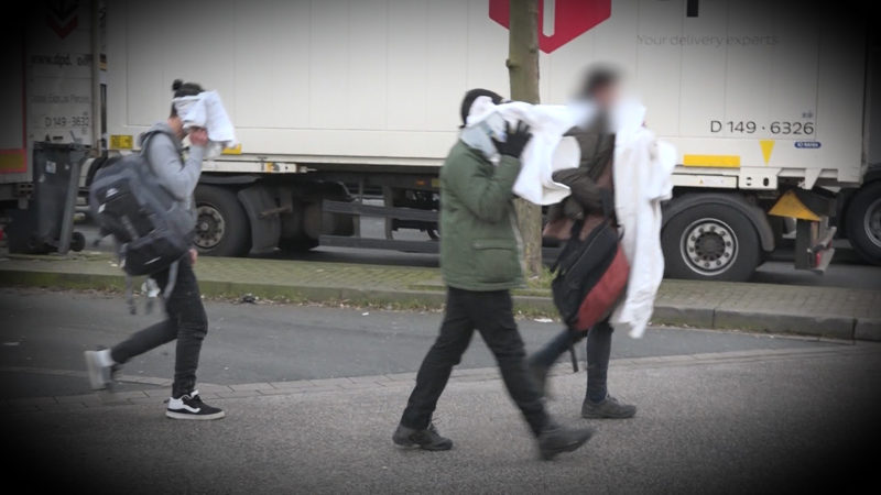 Flüchtlinge verschwunden (Foto: SAT.1 NRW)