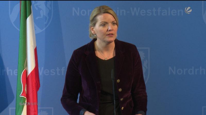 Hacker-Angriff auf Fernseher von NRW-Umweltministerin (Foto: SAT.1 NRW)