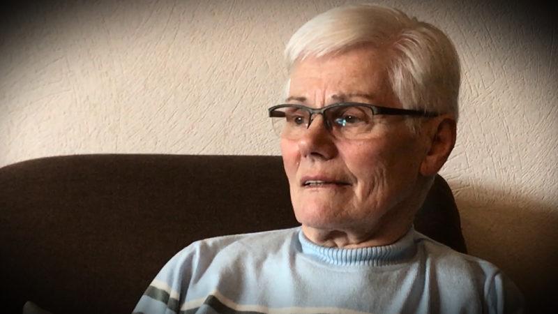 Fast getötet: Frau sucht Retter (Foto: SAT.1 NRW)