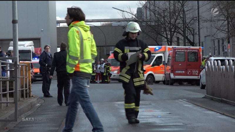 Oer-Erkenschwick: Gefährliches Gas (Foto: SAT.1 NRW)