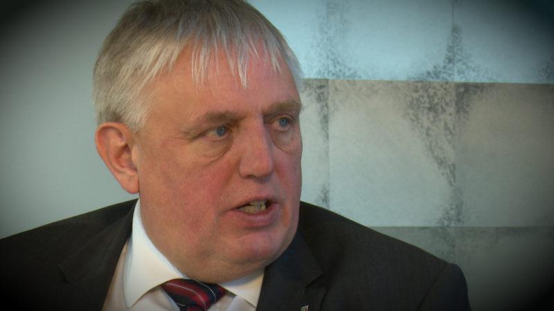 NRW-Gesundheitsminister Laumann zum Corona-Virus (Foto: SAT.1 NRW)
