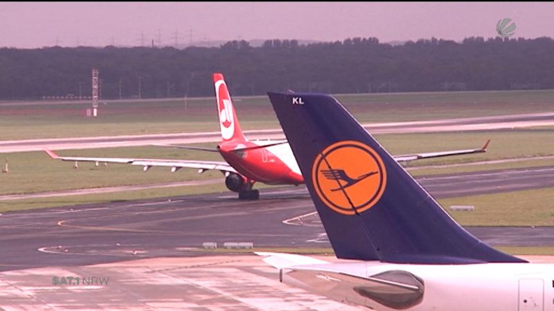 Lufthansa schließt Basis in Düsseldorf (Foto: SAT.1 NRW)